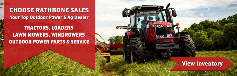 Shop Tractors, Loaders, Lawn Mowers, Windrowers, Oudoor Power Equipment & More at Rathbone Sales in WA