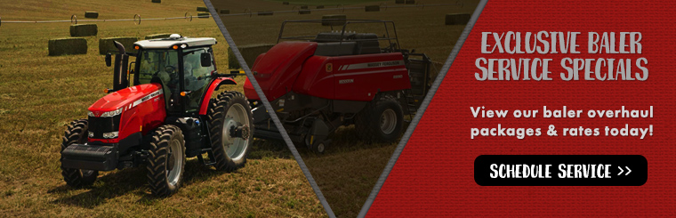 Baler Overhaul Service Specials only at Rathbone Sales!
