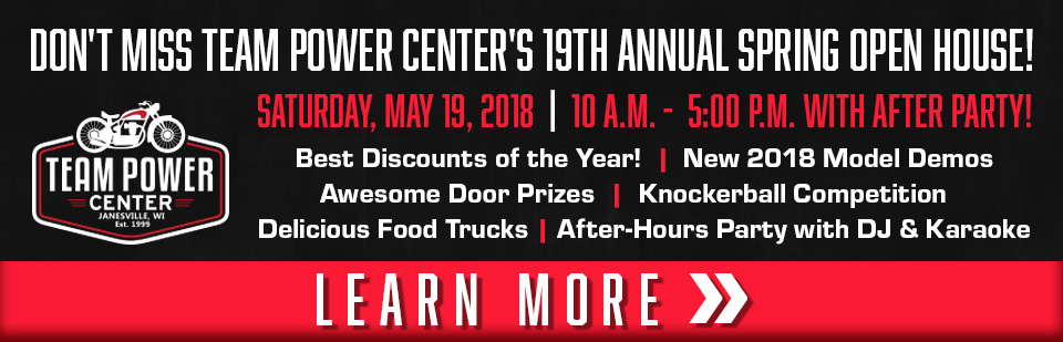 Save at Team Power Center's Open House - Your Triumph Dealer in Wisconsin!