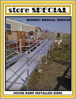 House Ramp Installed $2,500