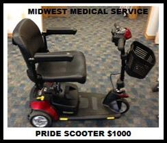 Pride Scooter $1,000