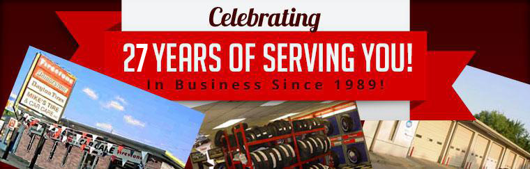 We are celebrating 25 years of serving you!