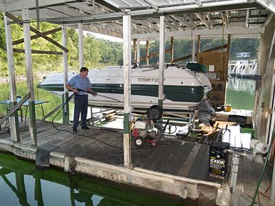 Boat Service and Repair on Lake Norfork 101 Boat Dock Gamaliel, AR