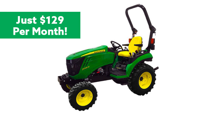 2 Family Compact Utility Tractors