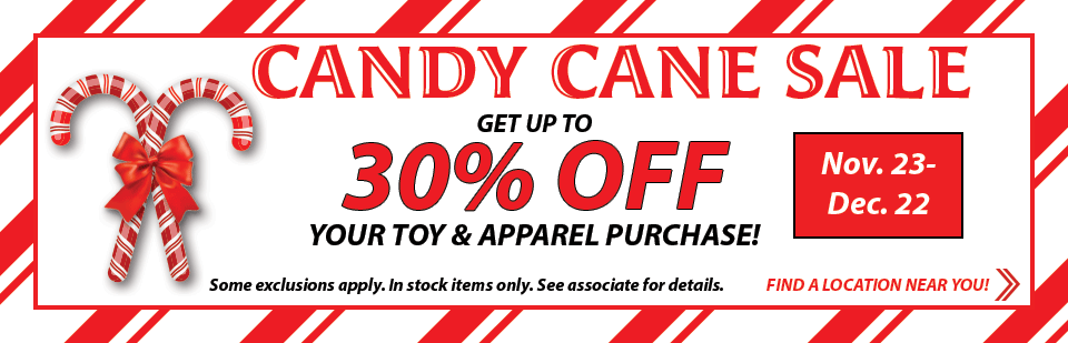 Candy Cane Sale