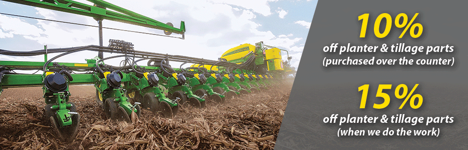 July Special- Planter & Tillage Parts