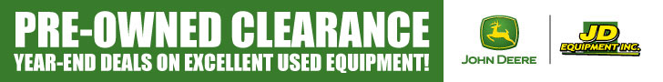 Pre-Owned Clearance. Year-End deals on excellent used equipment!