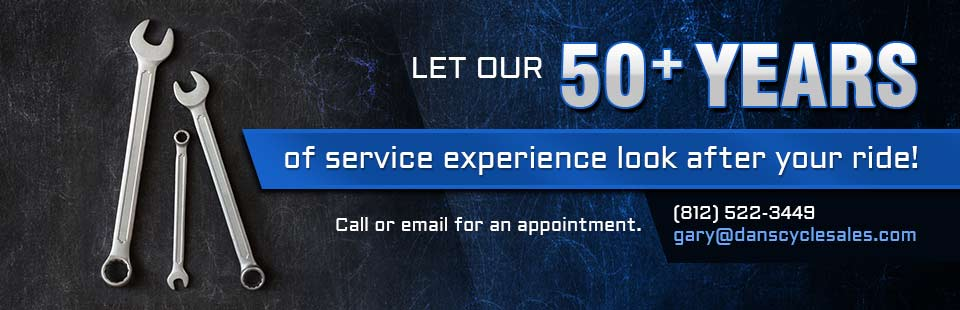 Let our 50+ years of service experience look after your ride! Click here to request your service online.
