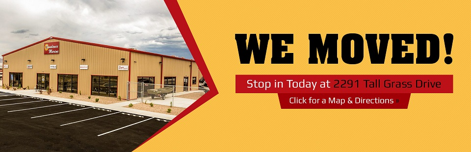 We moved to 2291 Tall Grass Drive, Grand Junction, CO 81505! Stop in today.