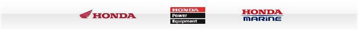 We carry products from Honda, Honda Power Equipment, and Honda Marine.