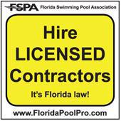 FSPA: Hire licensed contractors. It's Florida law!