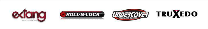 We carry products from Extang, Roll-N-Lock, UnderCover, and TruXedo