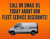 Call or email us today about our fleet service discounts!