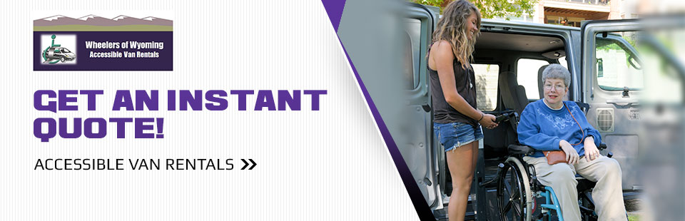 Click here to get an instant quote on accessible van rentals.