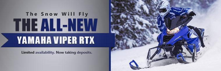 We are now taking deposits on the all-new Yamaha Viper RTX!