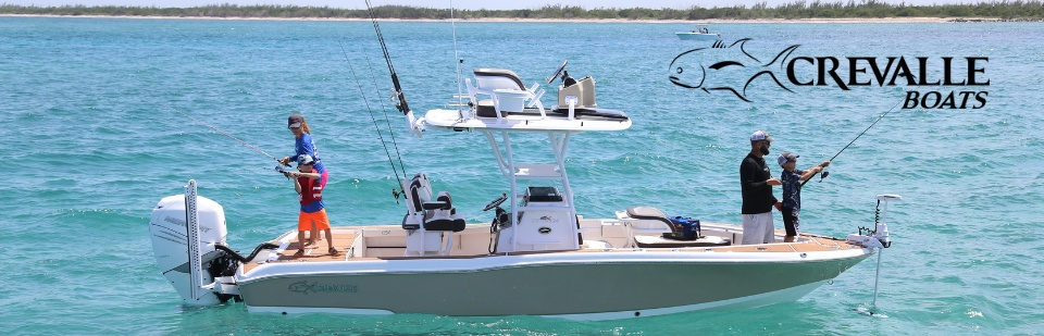 Crevalle Boats: Click here to view the models.