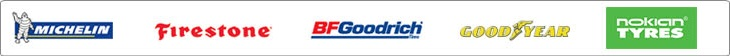We carry great products from Michelin®, BFGoodrich®, Goodyear, Nokian, and Firestone.
