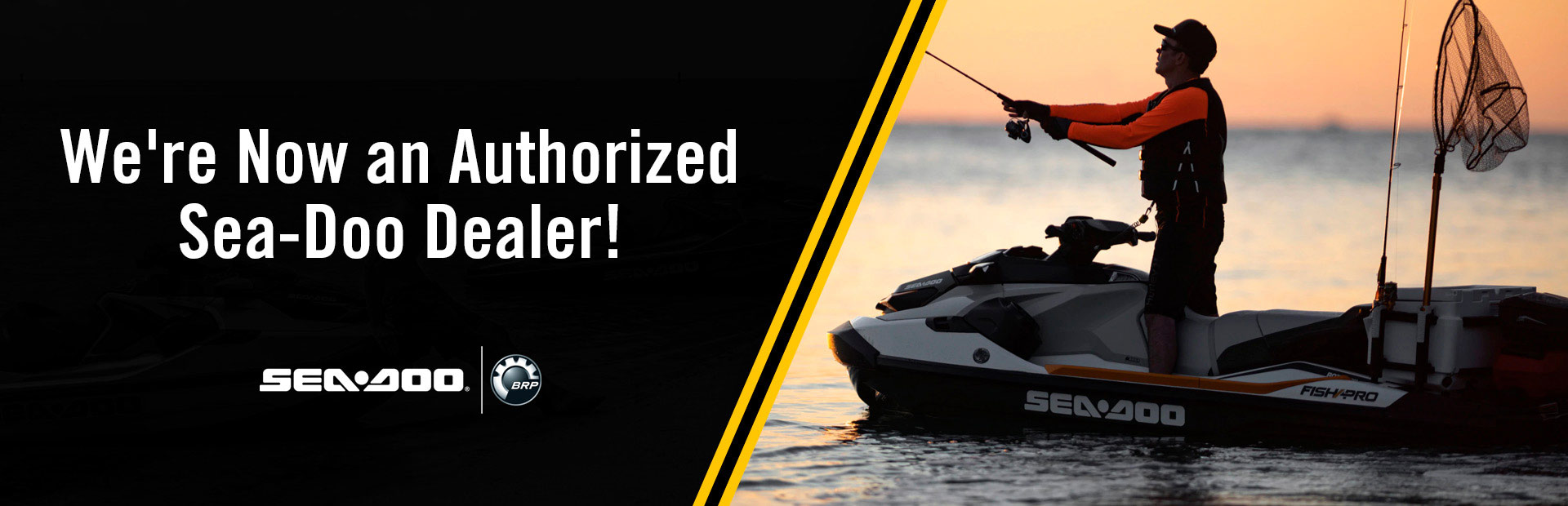 We're now an authorized Sea-Doo dealer! Click here now!