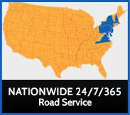 Nationwide 24/7/365 Road Service