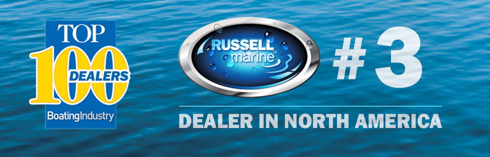 Russell Marine Honored as #3 Dealer in North America