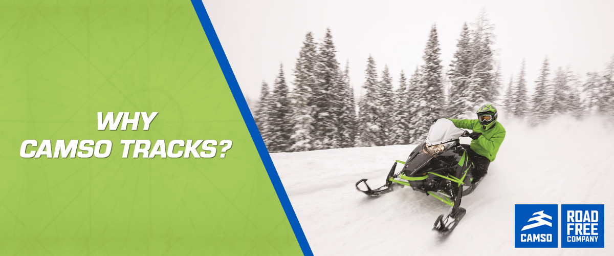 #1 Camso Snowmobile Track Dealer in the United States