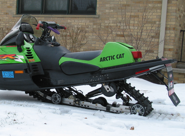 Arctic Cat Tunnel Extensions