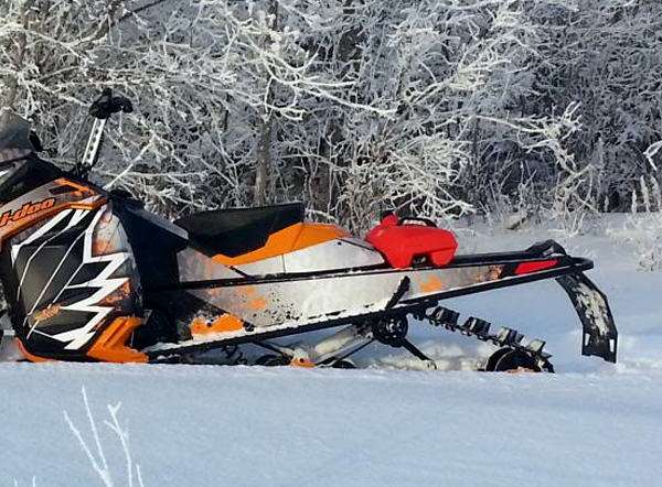 Ski Doo Tunnel Extensions