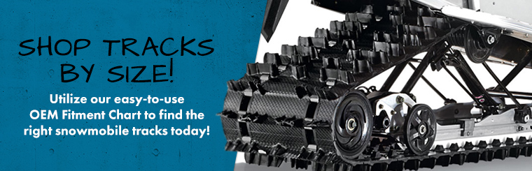 Tracks Usa - Shop Snowmobile Tracks for your Polaris, Arctic Cat, Ski-Doo snowmobile & more!