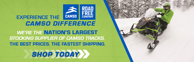 Tracks USA - America's Largest Snowmobile Track Dealer | Camso