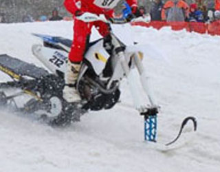 Ride Your Dirt Bike In Snow With Snow Bike Conversion Kits At