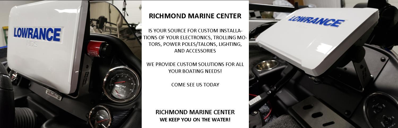 Home Richmond Marine Center Chester, VA (804) 275-0250