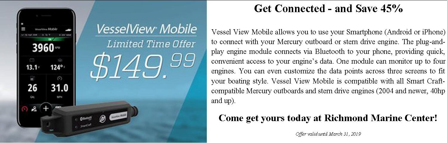 Mercury Vessel View Mobile