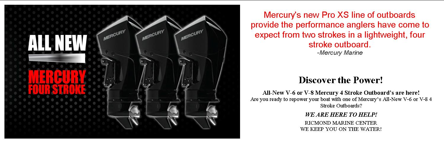 New Mercury 4 Strokes