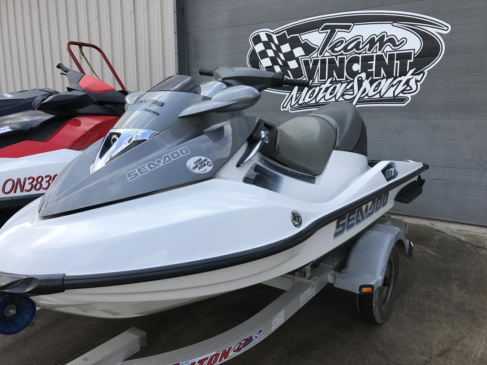 For Sale: 2006 Sea Doo Pwc Used Gtx 185 S/c ft<br/>Team Vincent Motorsports Inc