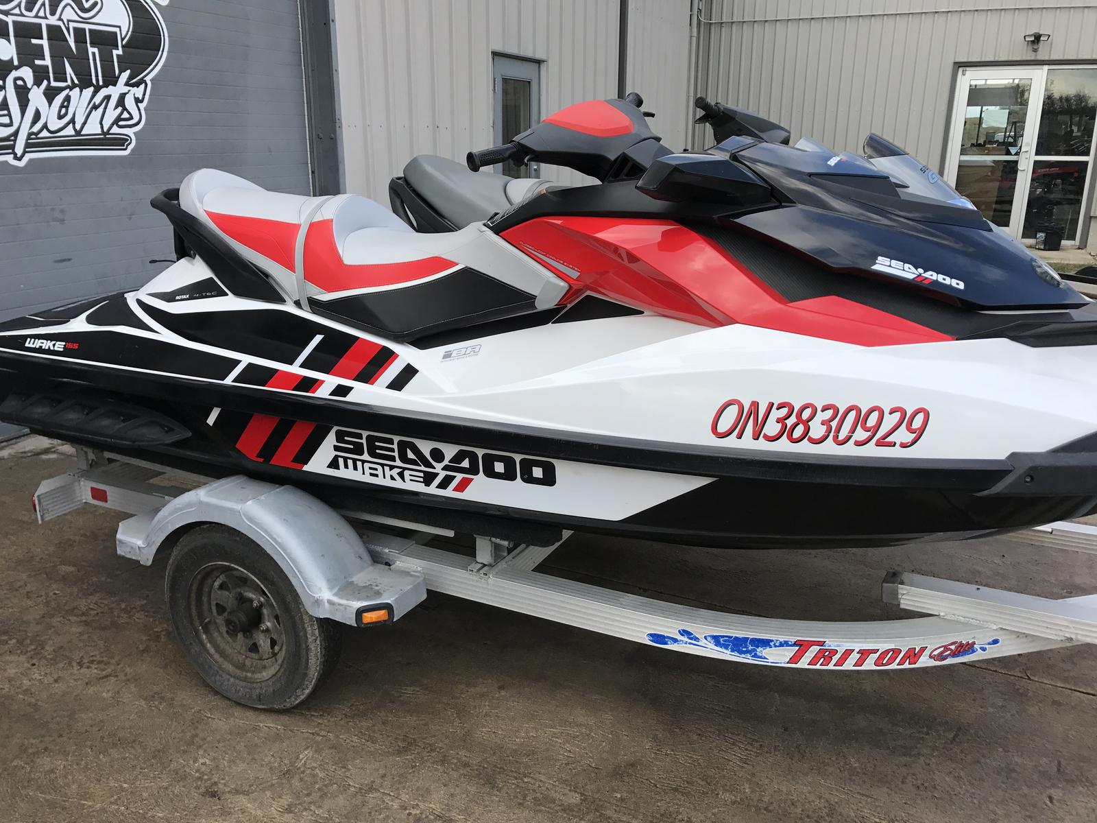 For Sale: 2013 Sea Doo Pwc Wake 155 ft<br/>Team Vincent Motorsports Inc
