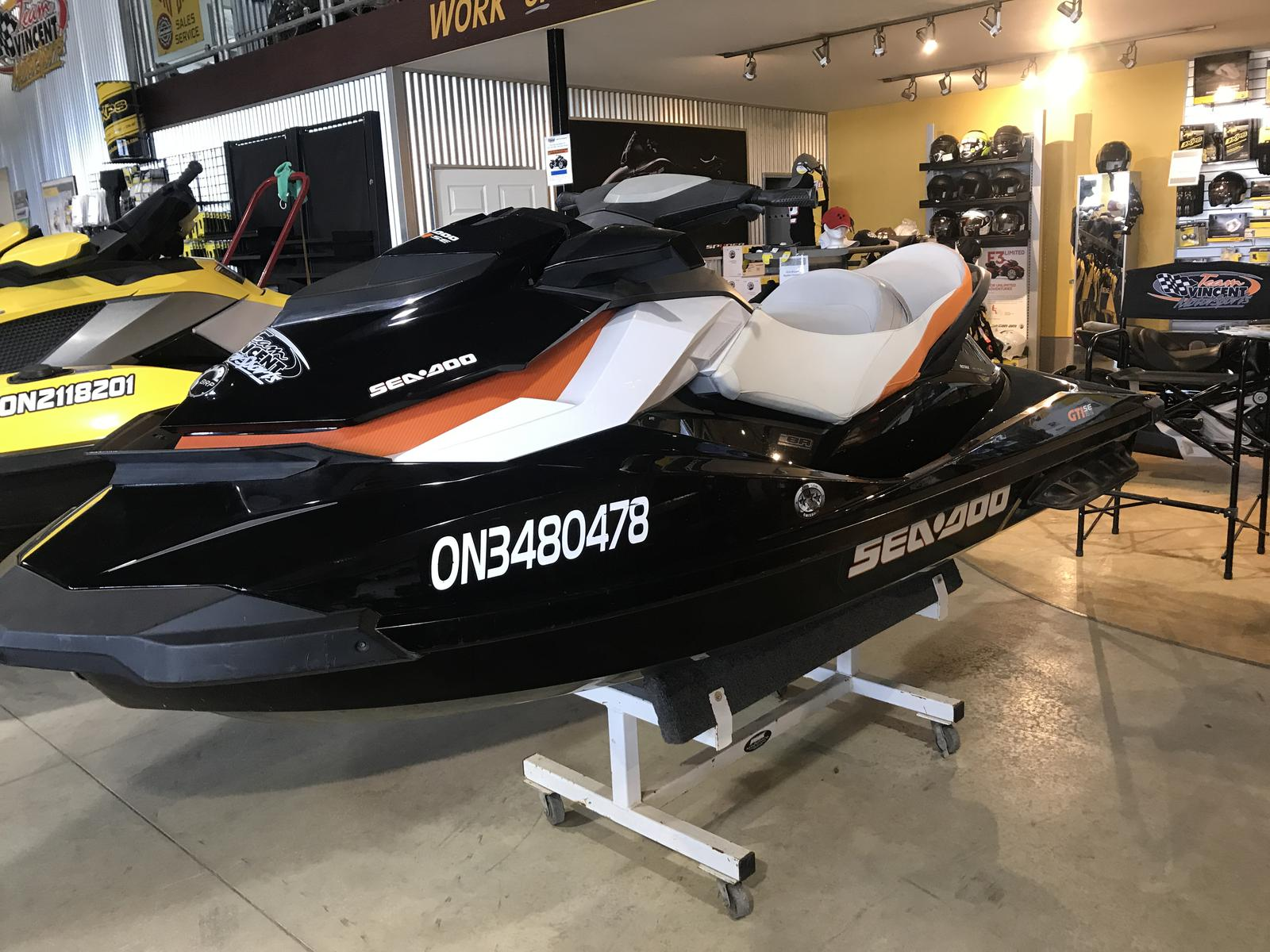 For Sale: 2012 Sea Doo Pwc Used Gti Se 155 ft<br/>Team Vincent Motorsports Inc