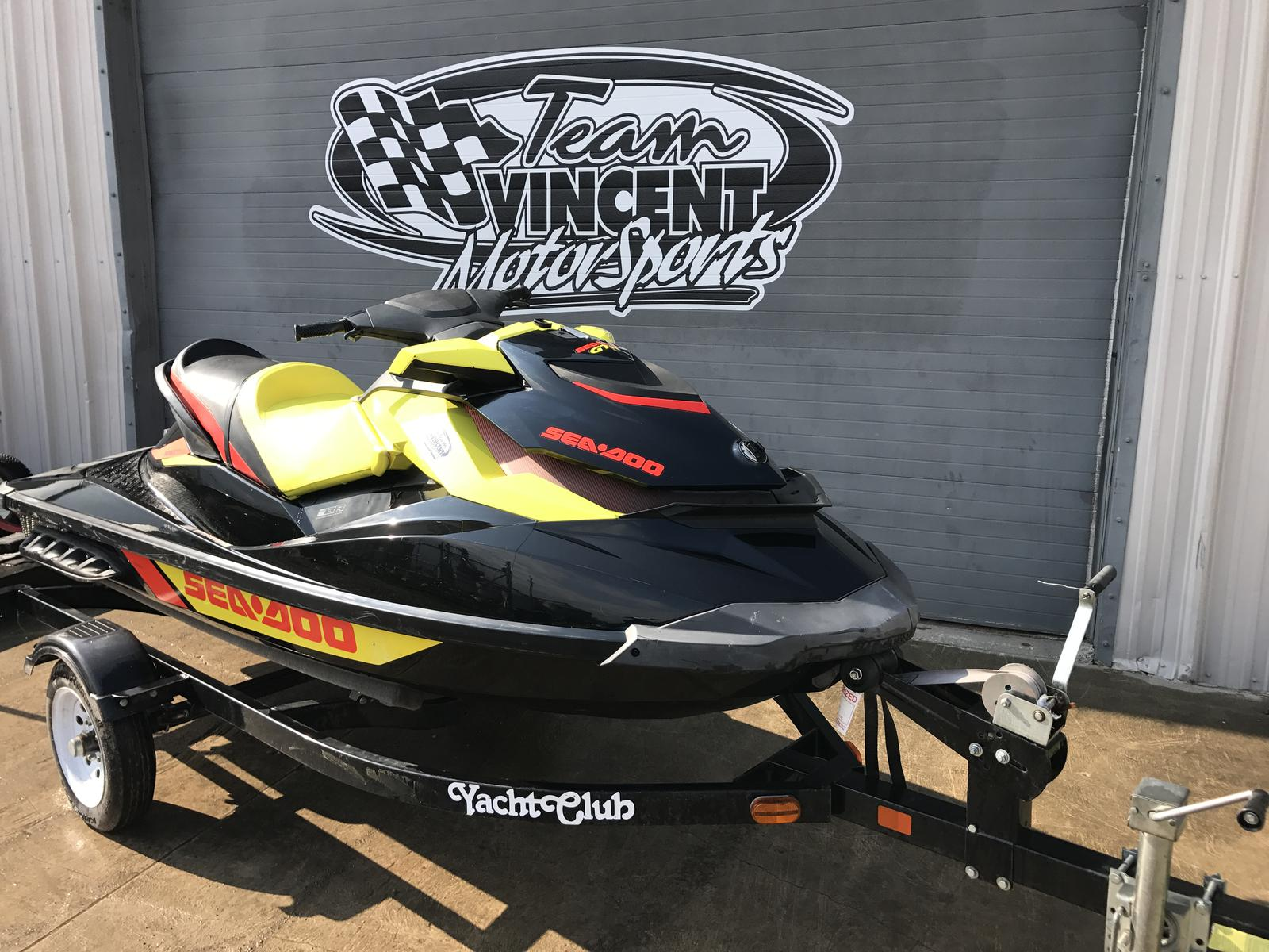 For Sale: 2014 Sea Doo Pwc Used Gtr 215 ft<br/>Team Vincent Motorsports Inc