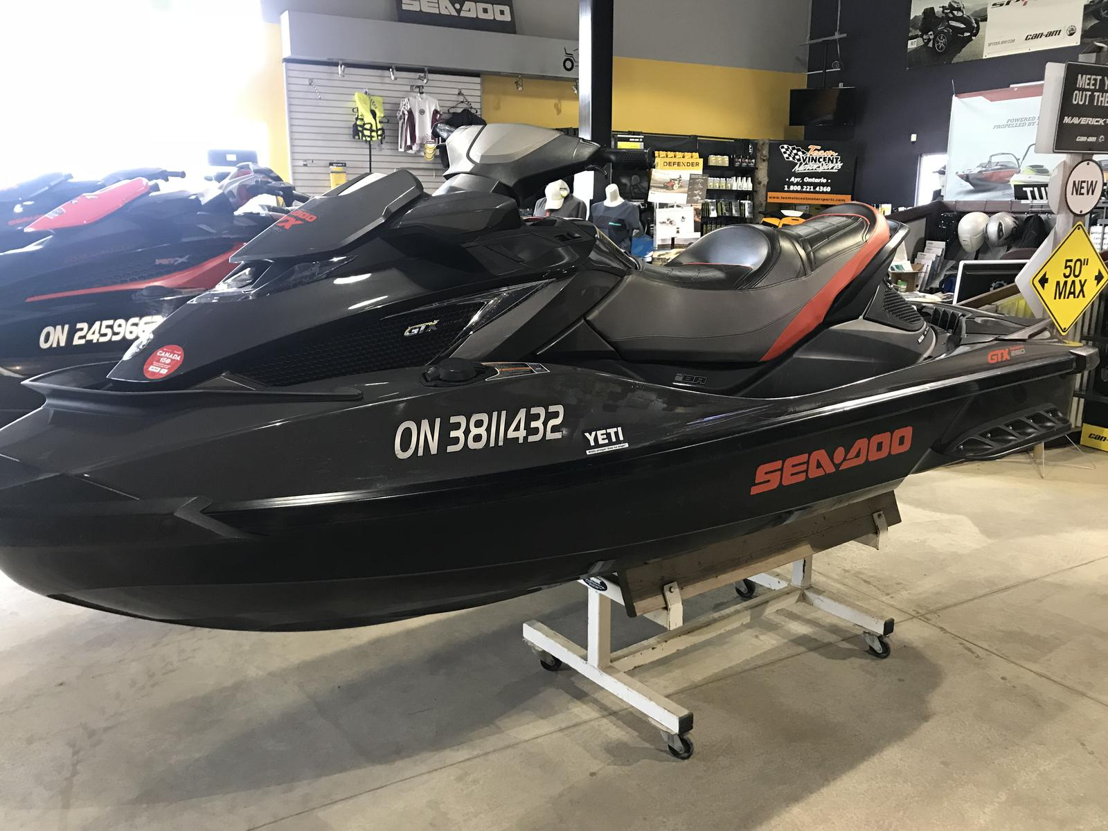For Sale: 2013 Sea Doo Pwc Gtx Is Limited 260 ft<br/>Team Vincent Motorsports Inc