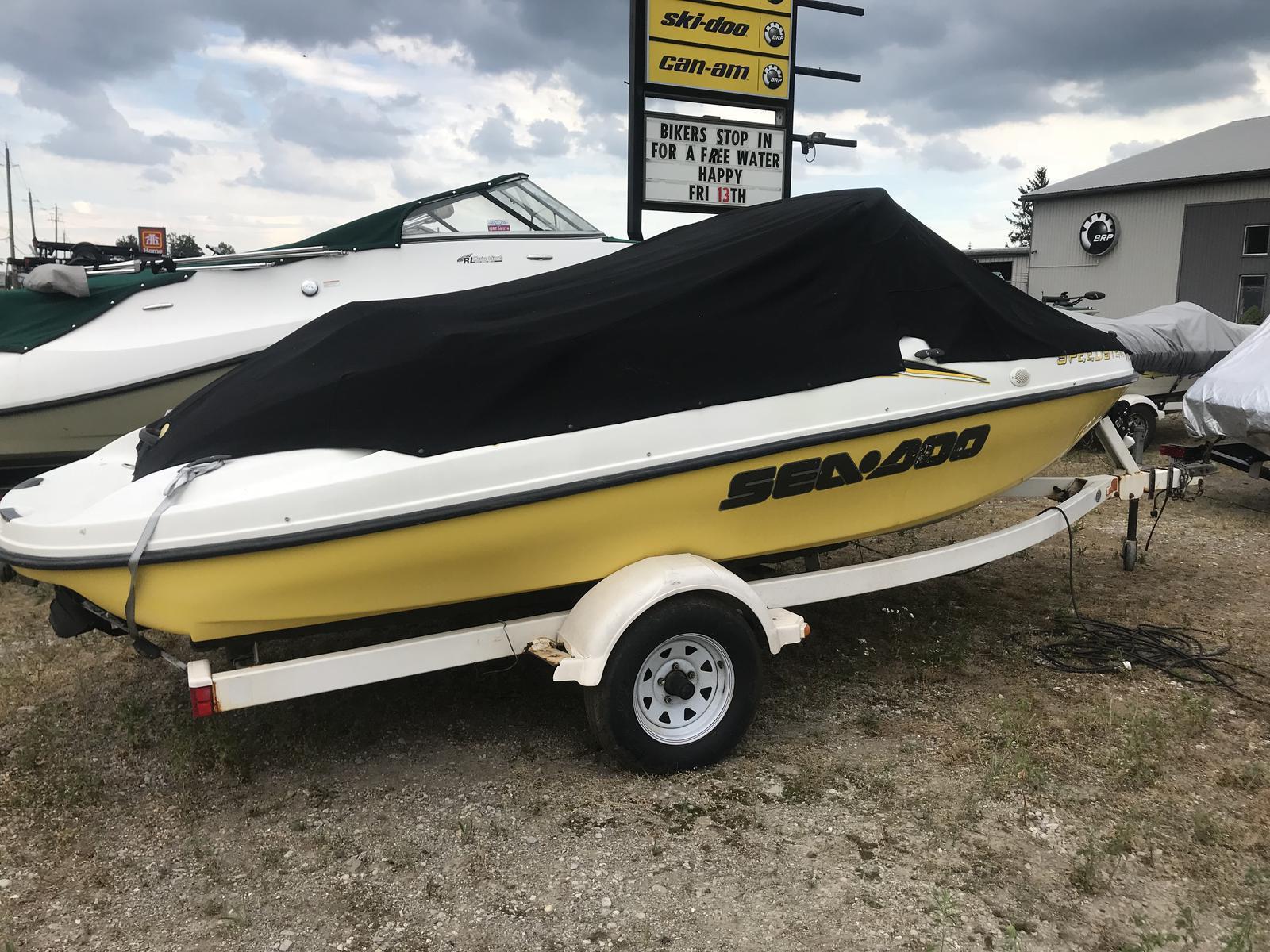 For Sale: 1999 Sea Doo Sportboat Speedster Sk Twn/ 110hp 17ft<br/>Team Vincent Motorsports Inc