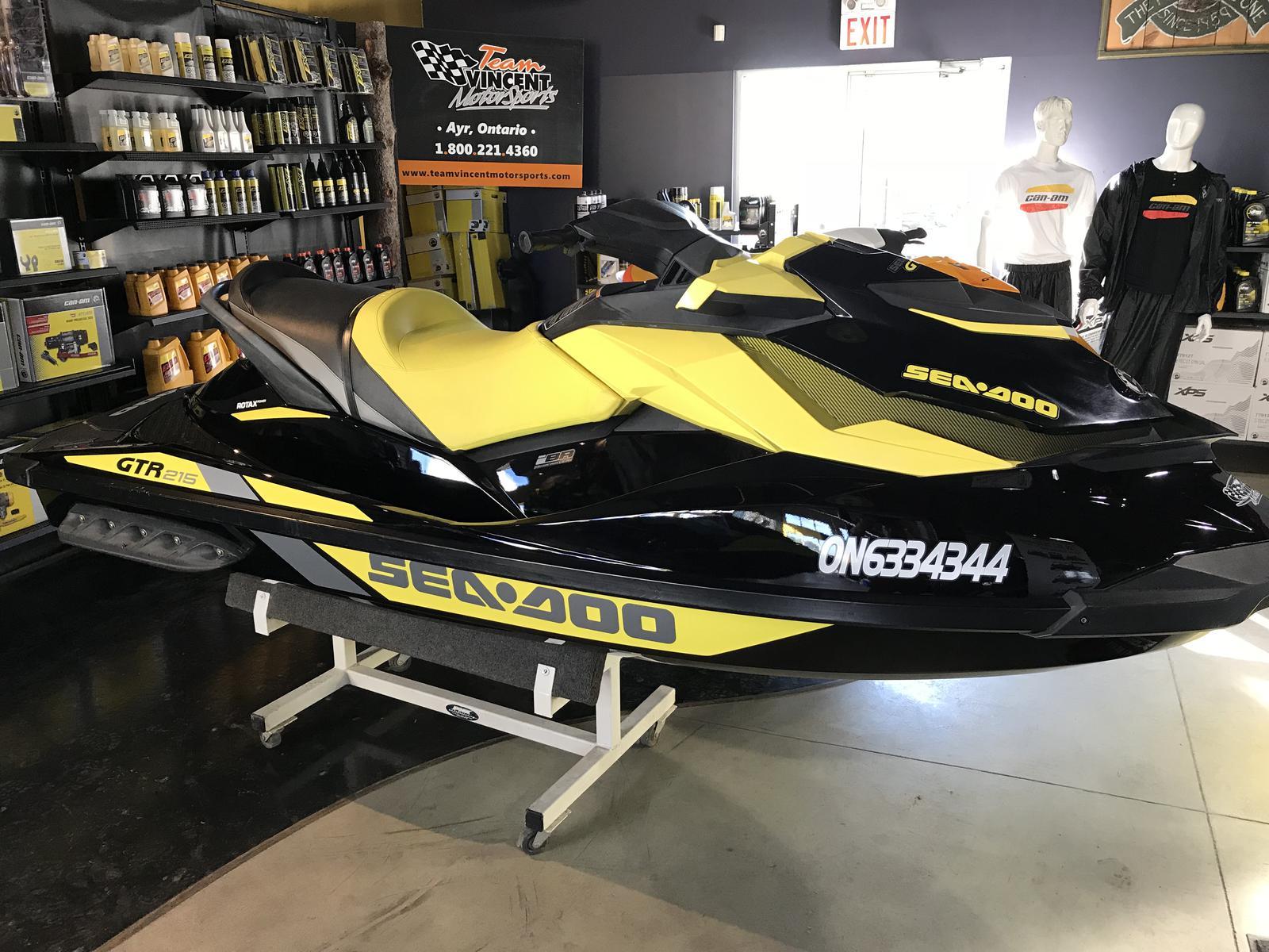 For Sale: 2016 Sea Doo Pwc Seadoo Gtr 215hp ft<br/>Team Vincent Motorsports Inc