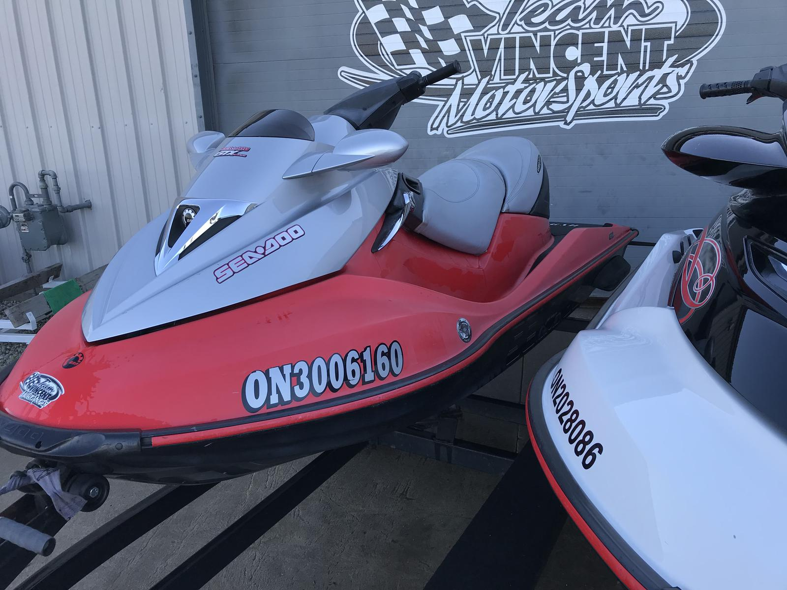 For Sale: 2003 Sea Doo Pwc Gtx 185 S/c ft<br/>Team Vincent Motorsports Inc