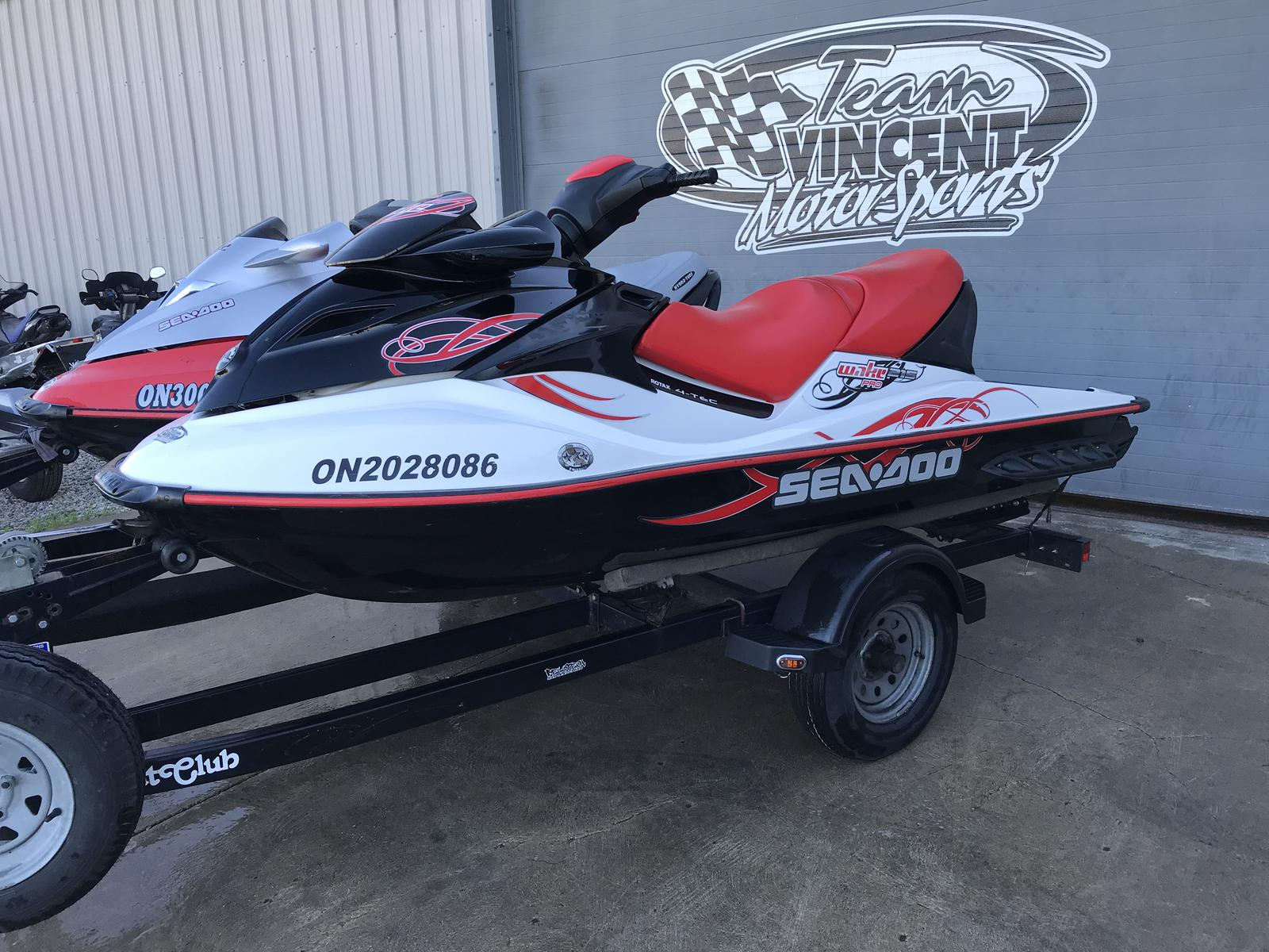 For Sale: 2009 Sea Doo Pwc Wake Pro 215 ft<br/>Team Vincent Motorsports Inc