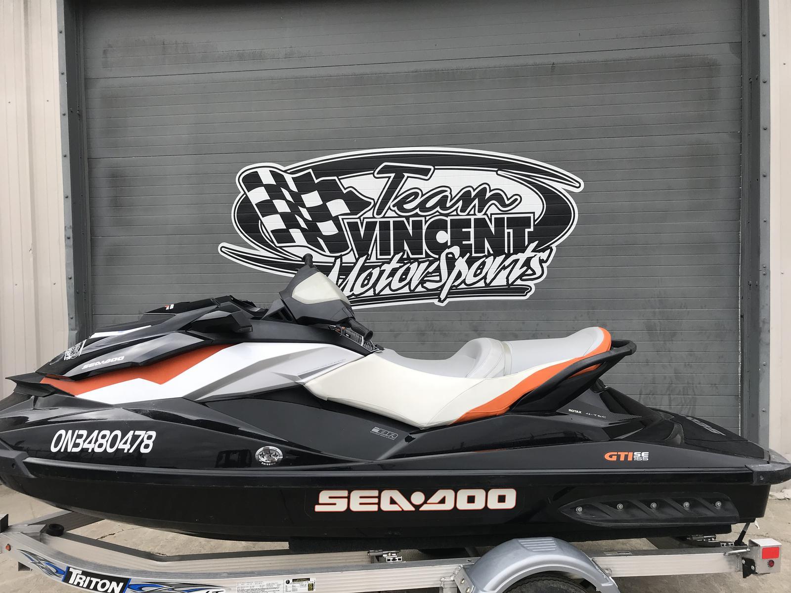 For Sale: 2012 Sea Doo Pwc Gti Se 155 ft<br/>Team Vincent Motorsports Inc
