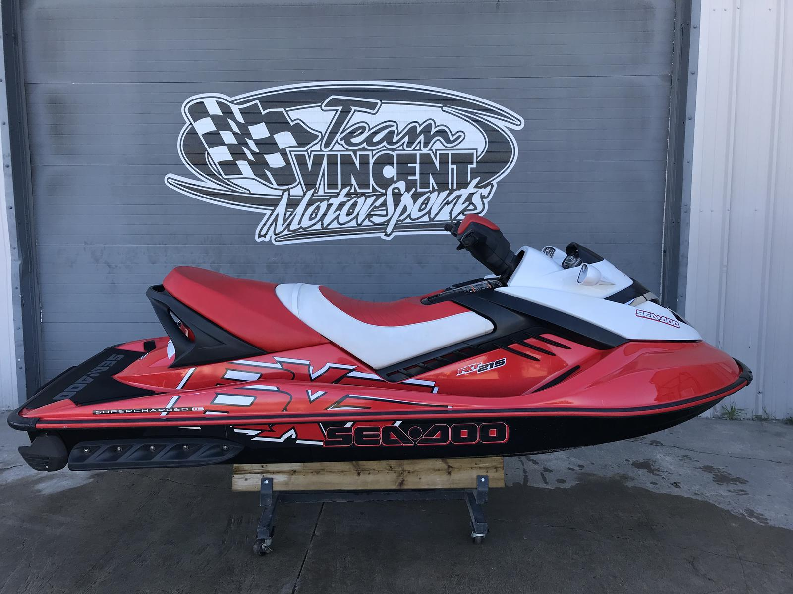 For Sale: 2007 Sea Doo Pwc Rxt 215 ft<br/>Team Vincent Motorsports Inc