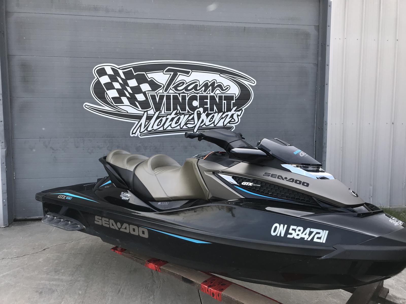 For Sale: 2017 Sea Doo Pwc Gtx Limited 230 ft<br/>Team Vincent Motorsports Inc