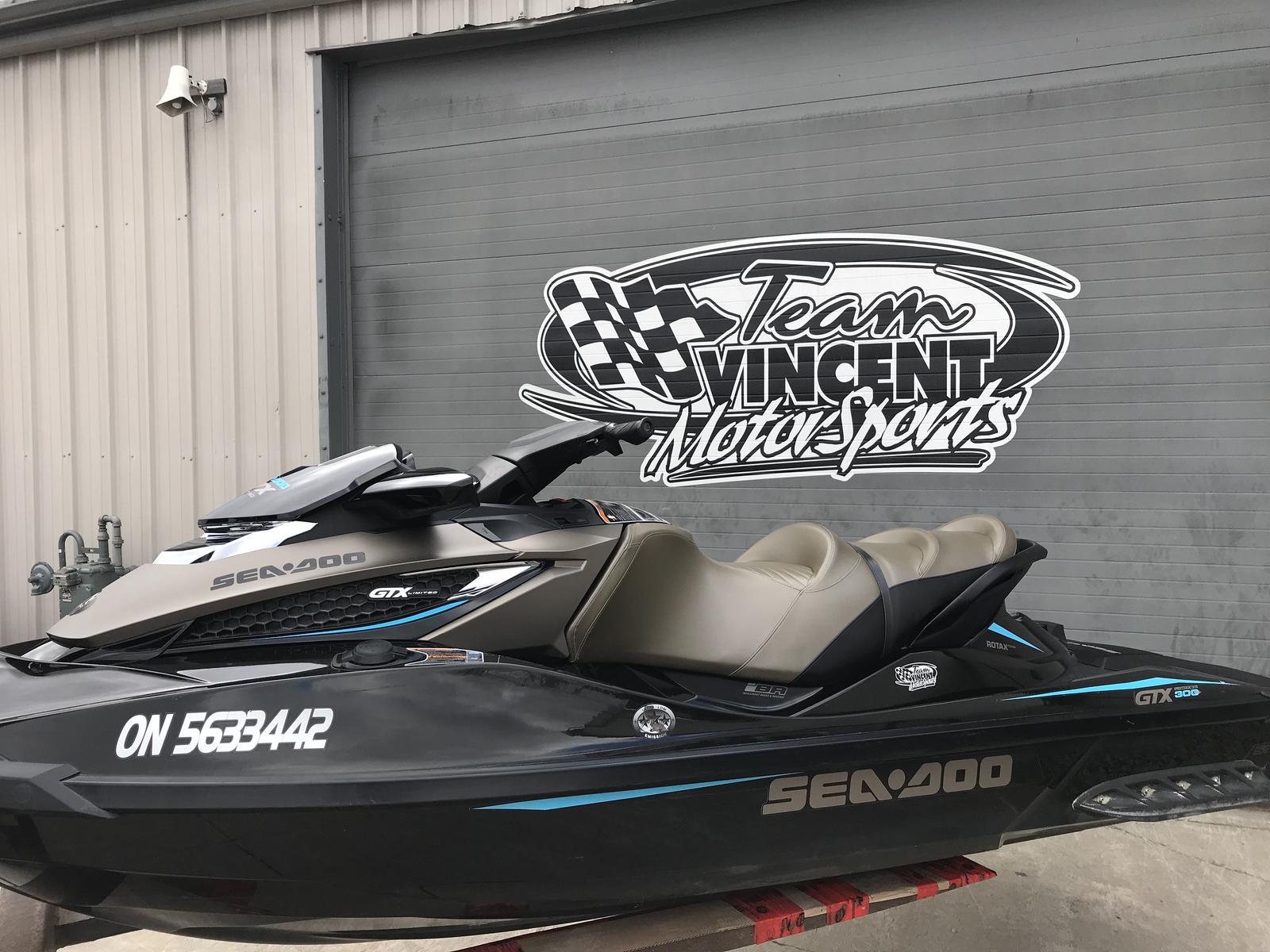 For Sale: 2017 Sea Doo Pwc Gtx Limited 300 ft<br/>Team Vincent Motorsports Inc