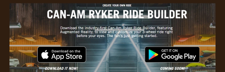 Can-Am Ryker Ride Builder