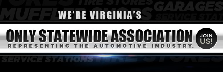 We're Virginia's Only Statewide Association Representing the Automotive Industry. Join us!