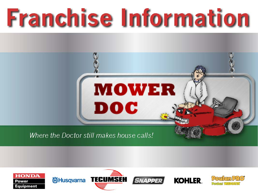 franchise brochure mower doc locust grove ga 678 480 1851