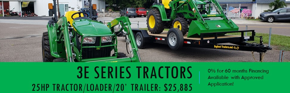 3E Series Tractor Packages